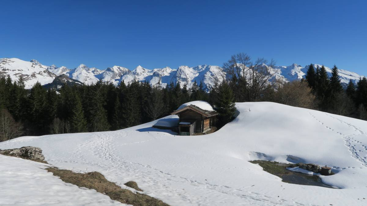 Chinaillon station de ski alpin fond et village